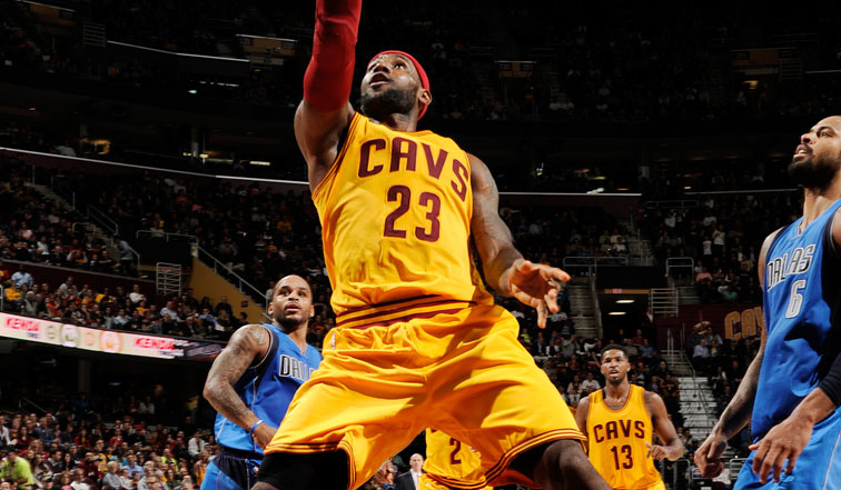 Cavaliers vs. Mavericks - October 17, 2014