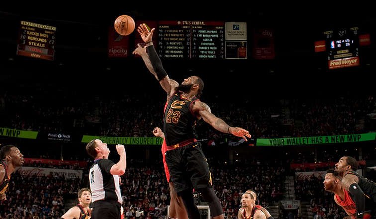 Cleveland Cavaliers F LeBron James named Eastern Conference's Player of the Week