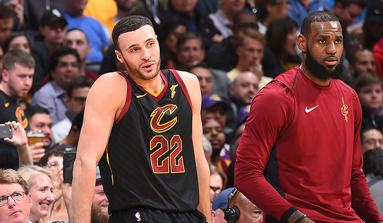 LeBron James free agency: Cavs star impressed by young Lakers