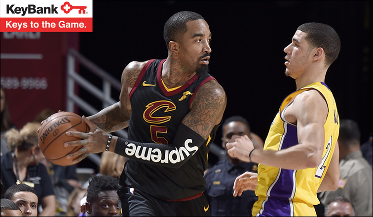 Lakers leave an impression on LeBron in punishing rout over Cavaliers