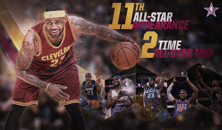 LeBron James Named 2015 NBA All-Star Game Starter | Cleveland ...