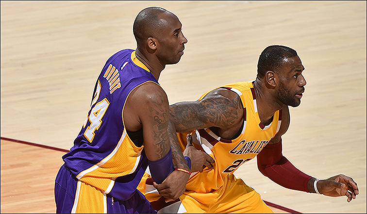 4ffe9bfb4bd Cavs Hold Off Lakers in Kobe s Farewell