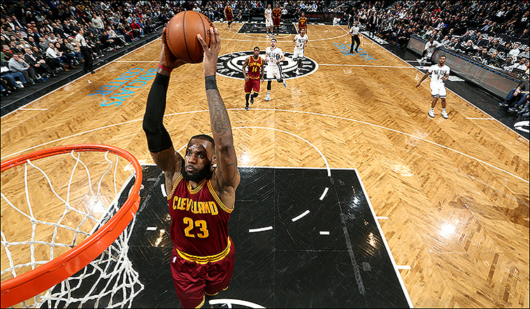 735930a24f1 Cavs Tip Off Trip with Tough Win in Brooklyn | Cleveland Cavaliers
