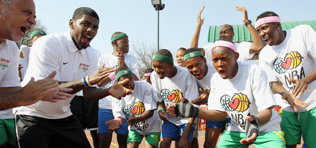 Kyrie Irving in Basketball without Borders