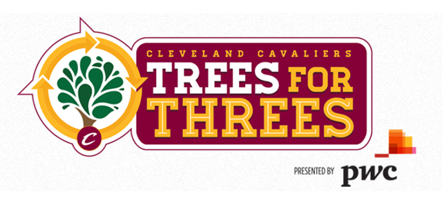 "PwC Cleveland and Cleveland Cavaliers Launch ""Trees for Thre"