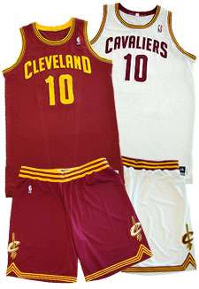 473c81771f8 Cleveland Cavaliers Unveil New Uniforms for 2010-11 Season ...