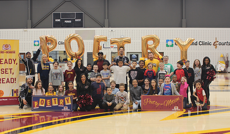 Local Kids Study Poetry With Cavs Cleveland Cavaliers