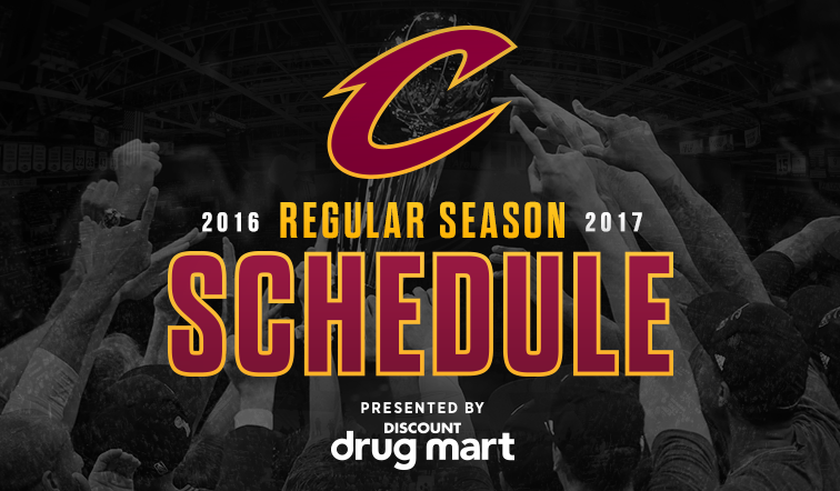 schedule features 18 home weekend dates 34 nationally televised games including christmas day contest in cleveland for first time since 2008
