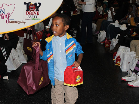 Cavs Distributing Thousands of Toys to Families
