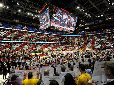 Cavaliers Hold Open Call National Anthem Auditions for 2015-16 Season