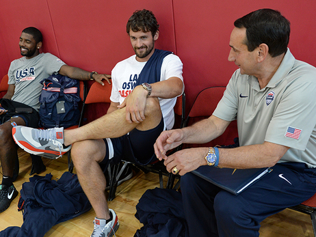 Cavs at Team USA Minicamp