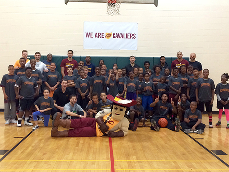 Cavs in the Columbus Community - October 11, 2015
