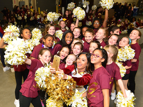 2016 Junior Cavalier Girls Dance Clinic