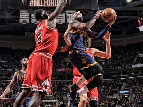 Bulls Pull Past Shorthanded Cavs at The Q