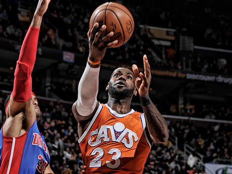Cavs Come Out Swinging, Pummel Pistons