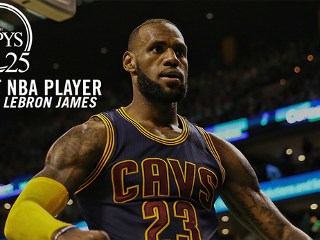 ESPYS Voting: Best NBA Player Nominee LeBron James