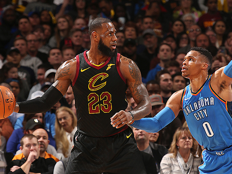 Red-Hot Cavs Roll Thunder, Take Fourth Straight