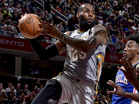 Sixers Jump Out Early, Hold Off Cavs Late