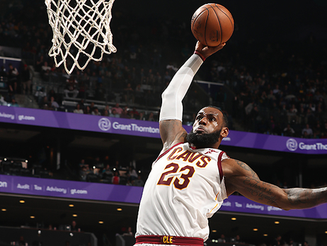 LeBron's Historic Performance Guides Cavs Past Hornets