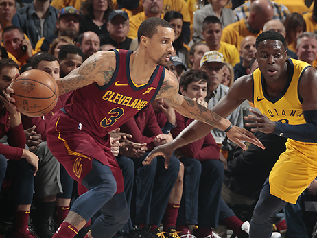 #CavsPacers Game 3 Photos - April 20, 2018