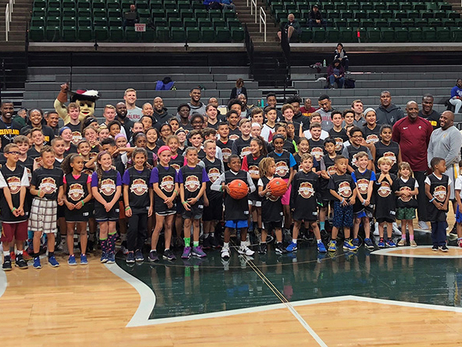 Cavs Host Youth Hoops Clinic at MSU