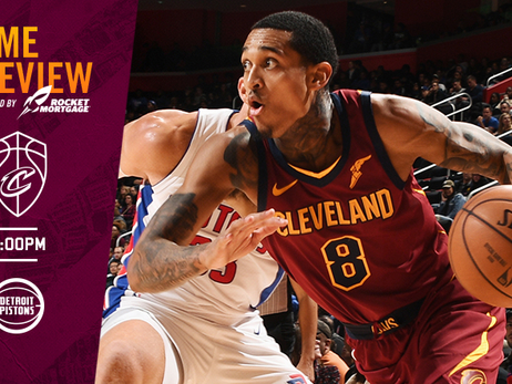 #CavsPistons Game Preview