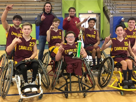 Jr. Wheelchair Cavs