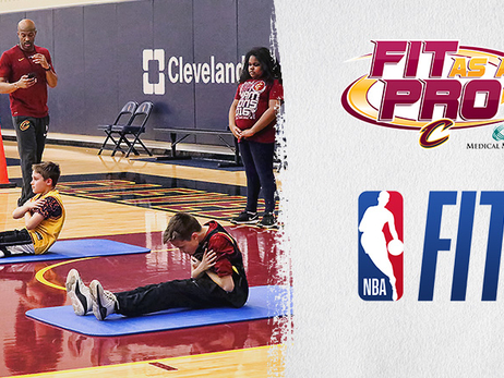 Fans Can Get Fit as a Pro at Upcoming Cavs Games