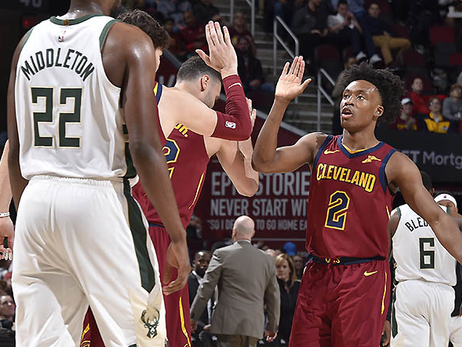 Cavs Young Guns Shoot Down Bucks