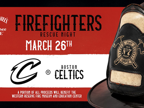 Cavs Host Firefighters Rescue Night at The Q