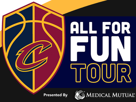 Cavs #AllForFunTour Hits the Road Across Ohio