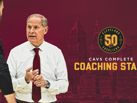 Cavaliers Complete Coaching Staff