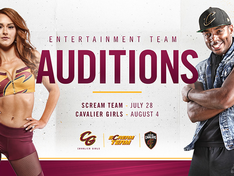Upcoming Cavaliers Dance & Entertainment Team Auditions