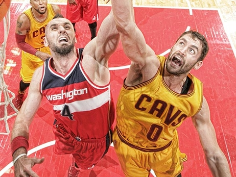 Cavaliers at Wizards - November 21, 2014