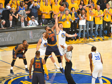 Top Photos of the 2017 NBA Finals