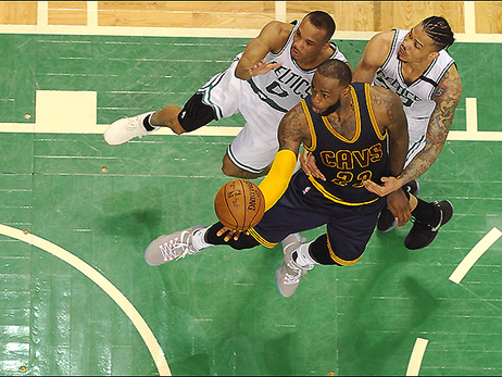 Red-Hot and Rust-Free Cavaliers Stomp Celts in Game 1