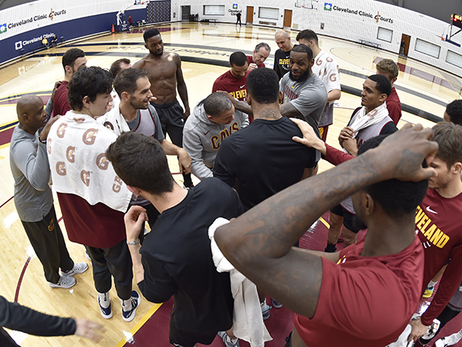 Cavs Practice Through the Lens