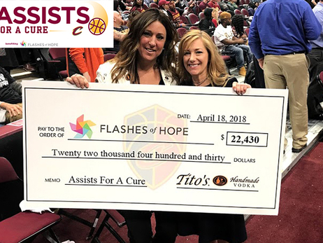 Cavs and Tito's Assists For a Cure Update