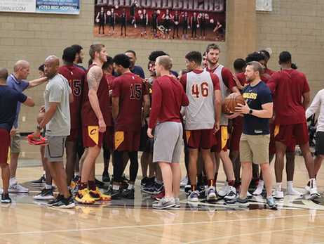 MGM Resorts Summer League Practice Through the Lens