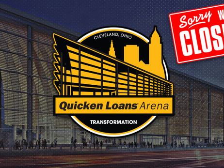 Quicken Loans Arena Closed for the Summer