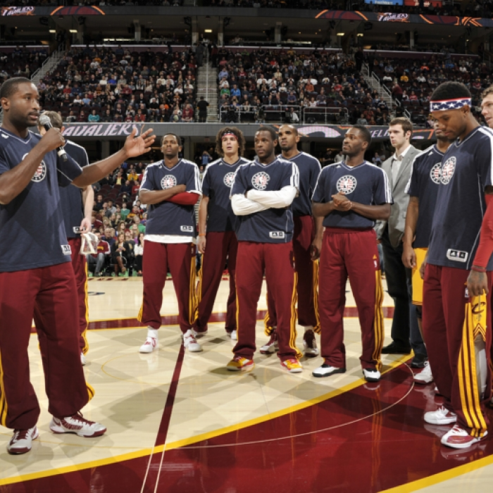 Cavaliers vs. Mavericks - November 17, 2012