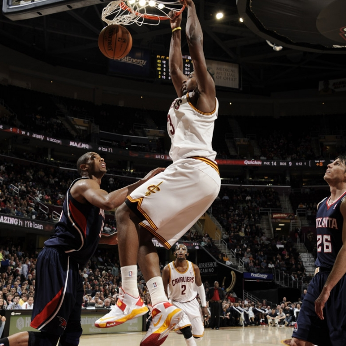 Cavaliers vs. Hawks - January 9, 2013