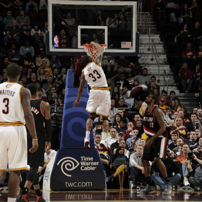 Cavaliers vs. Trail Blazers - December 1, 2012