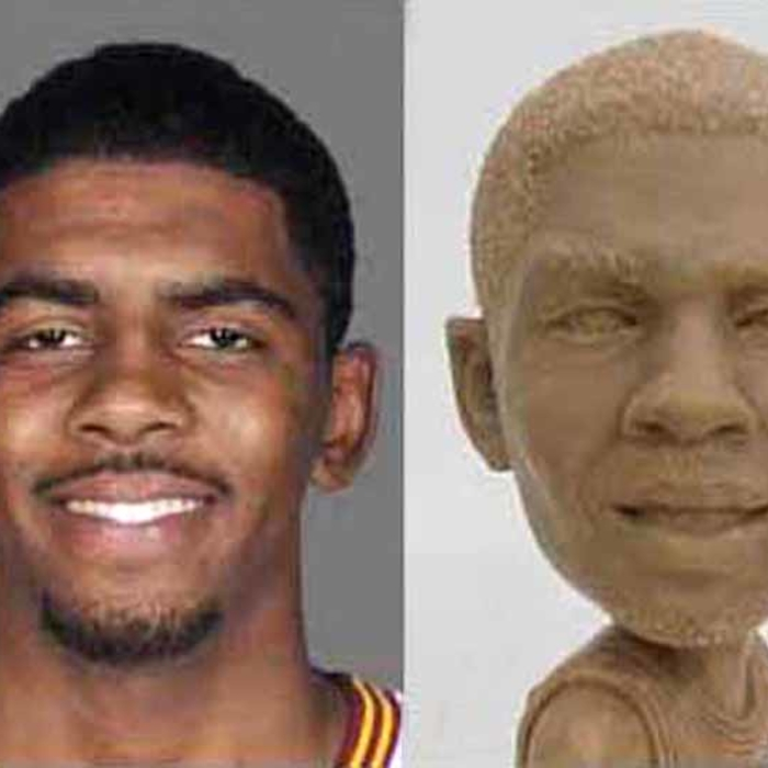 2012-13 Kyrie Irving bobblehead - How It's Made