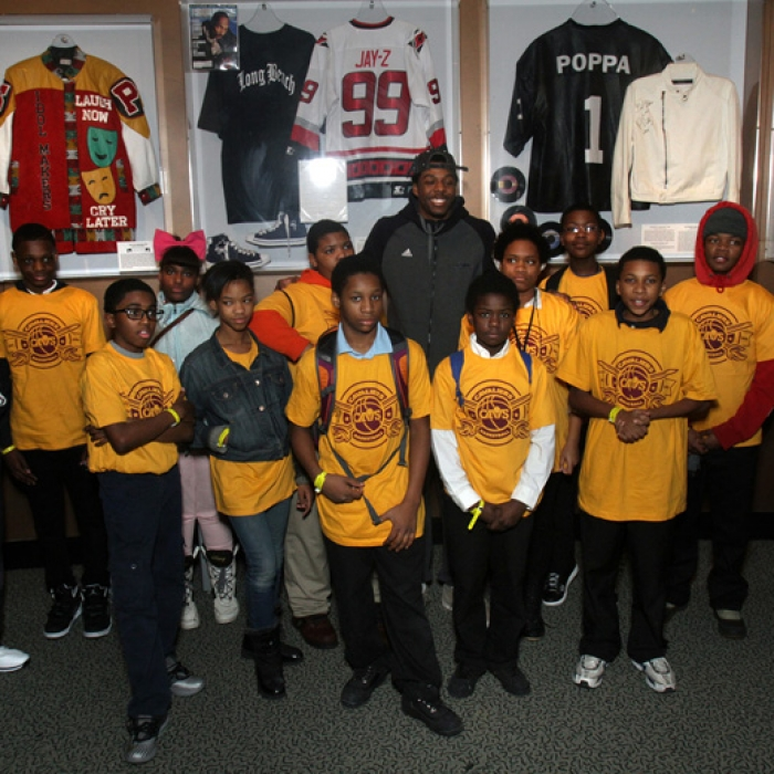 Cavs Rock Out with Boys and Girls Club