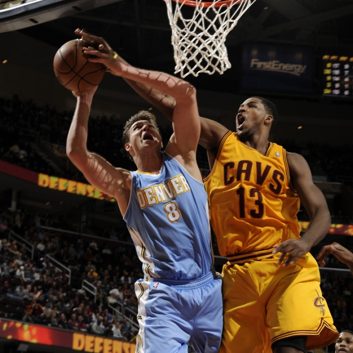 Cavaliers vs. Nuggets - February 9, 2013