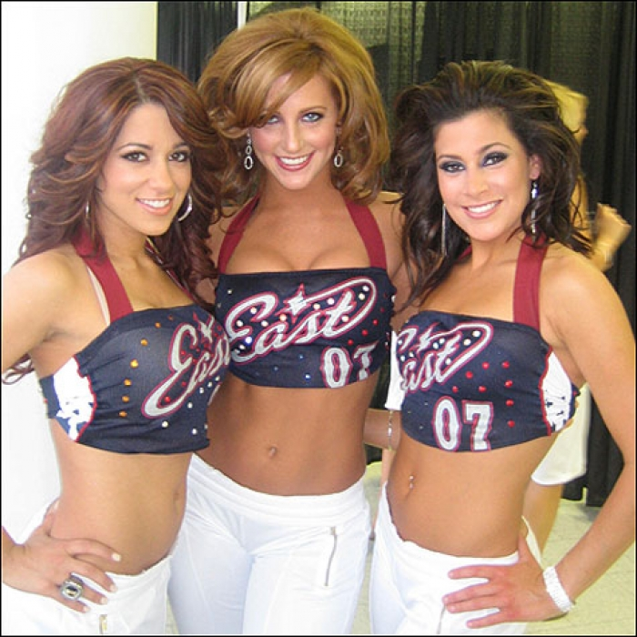 Cavaliers: Cavalier Girl Amanda at the NBA All-Star Game 2007