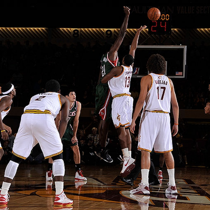 Cavaliers vs. Bucks - October 9th, 2012