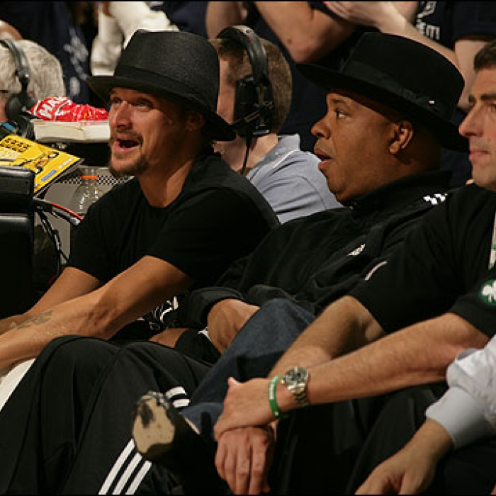 Cavaliers: 2007-08 Celebrity Watch at The Q