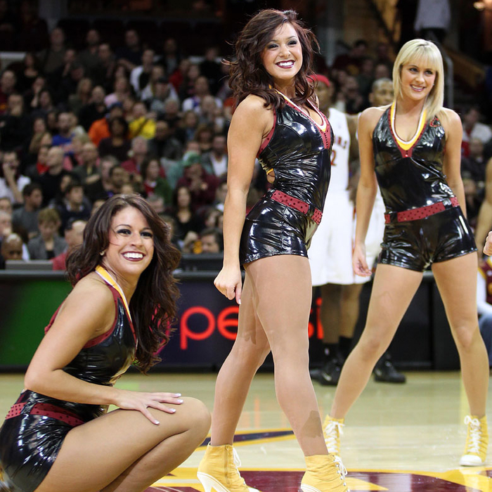 Cavalier Girls December Game Photos